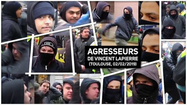 agresseurs de vincent Lapierre