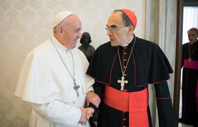 pape et barbarin