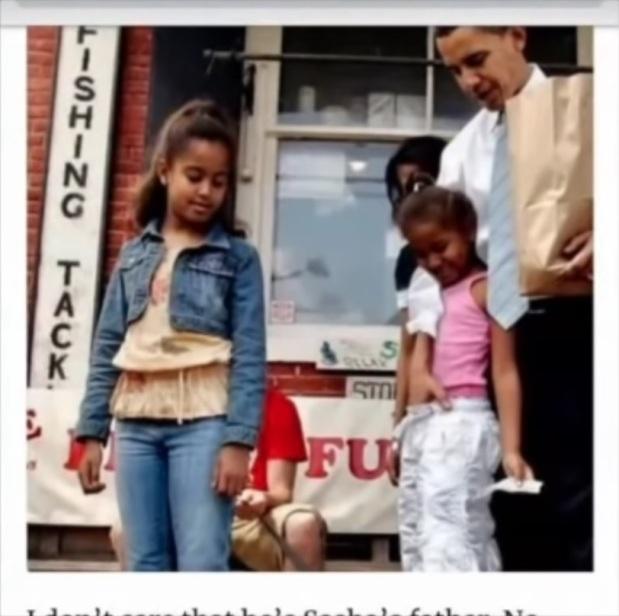 obama petite fille noire